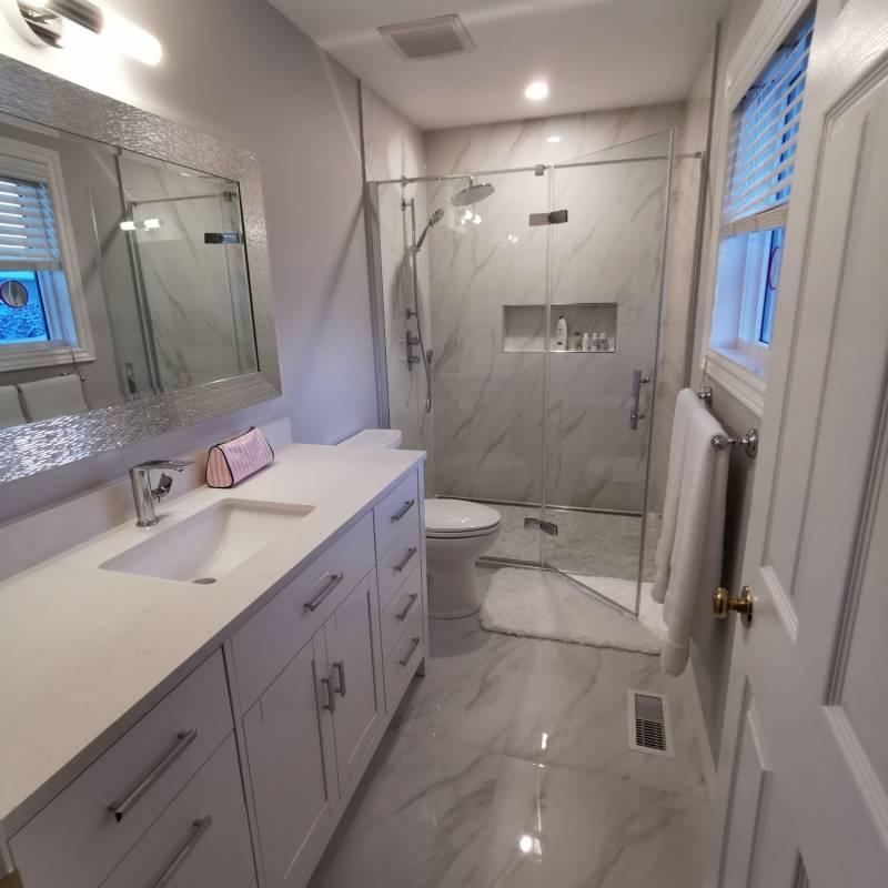 shower renovations